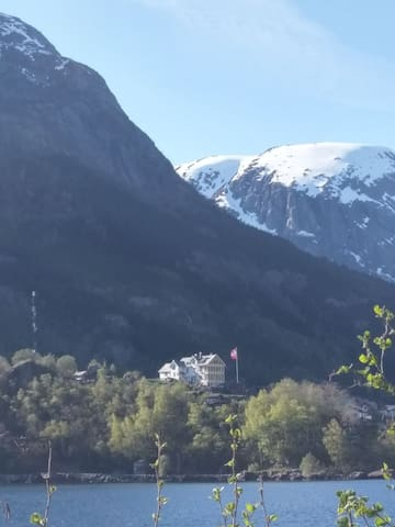 The big house on the top of Odda