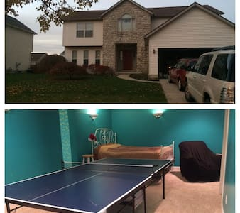Luxurious suite w/ping pong table! - Plain City