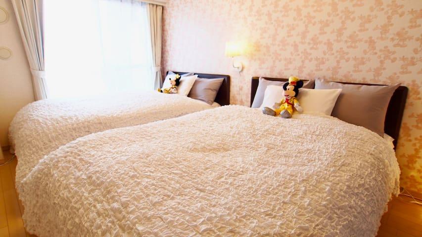 Only 3 Sta. 9min★Disney Resort★Best&Convenient#72