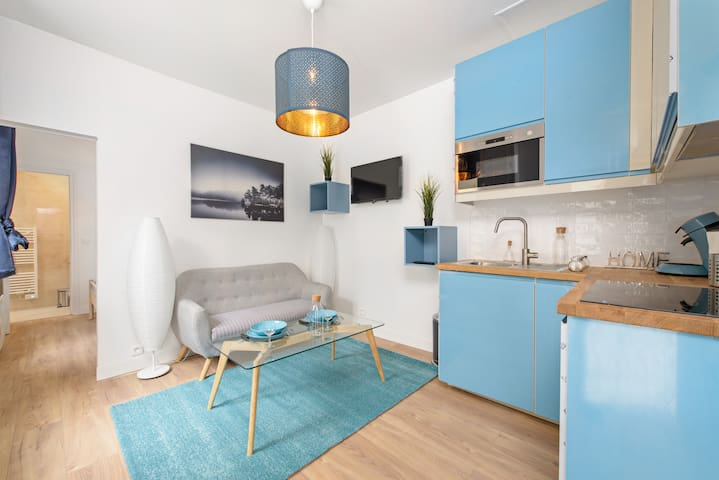 ★one bedroom for 3 people Paris stadium of France★