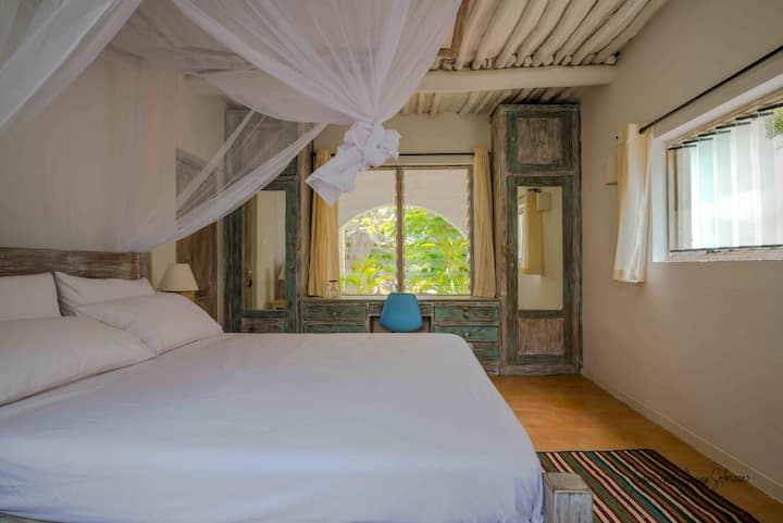 Sea View Double Room at Baobab Beach House