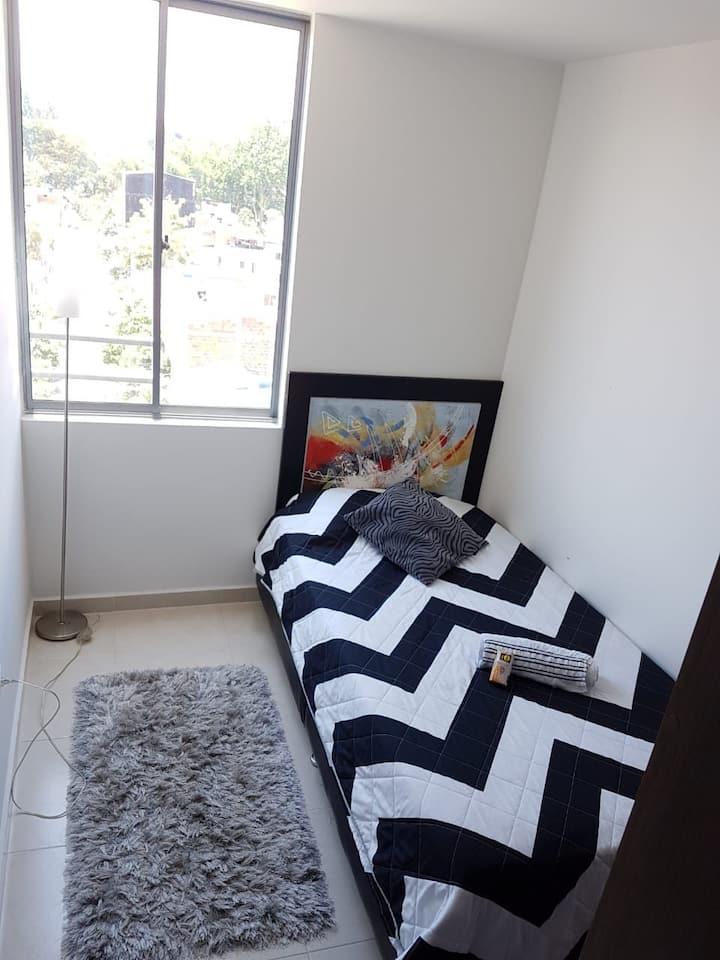 Espacio cómodo y agradable para tu alojamiento.