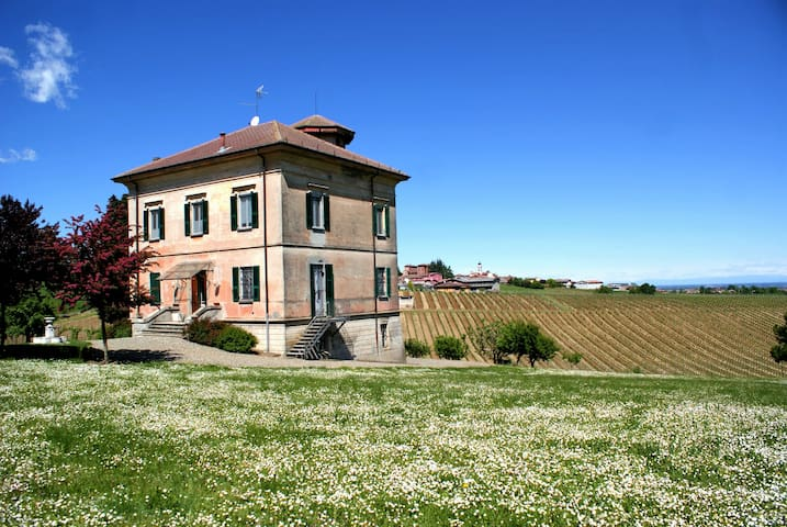 Charming hillside Villa surrounded by vineyards - Ziano Piacentino - Vila