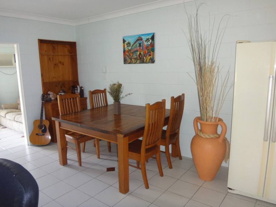 Open living/dining area.