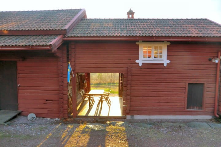 Guesthouse on picturesque dala cottage - Leksand - Kabin