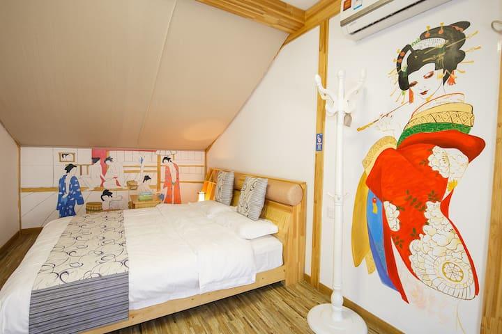 位于灵隐景区的日式风情大床房 - Hangzhou - Villa