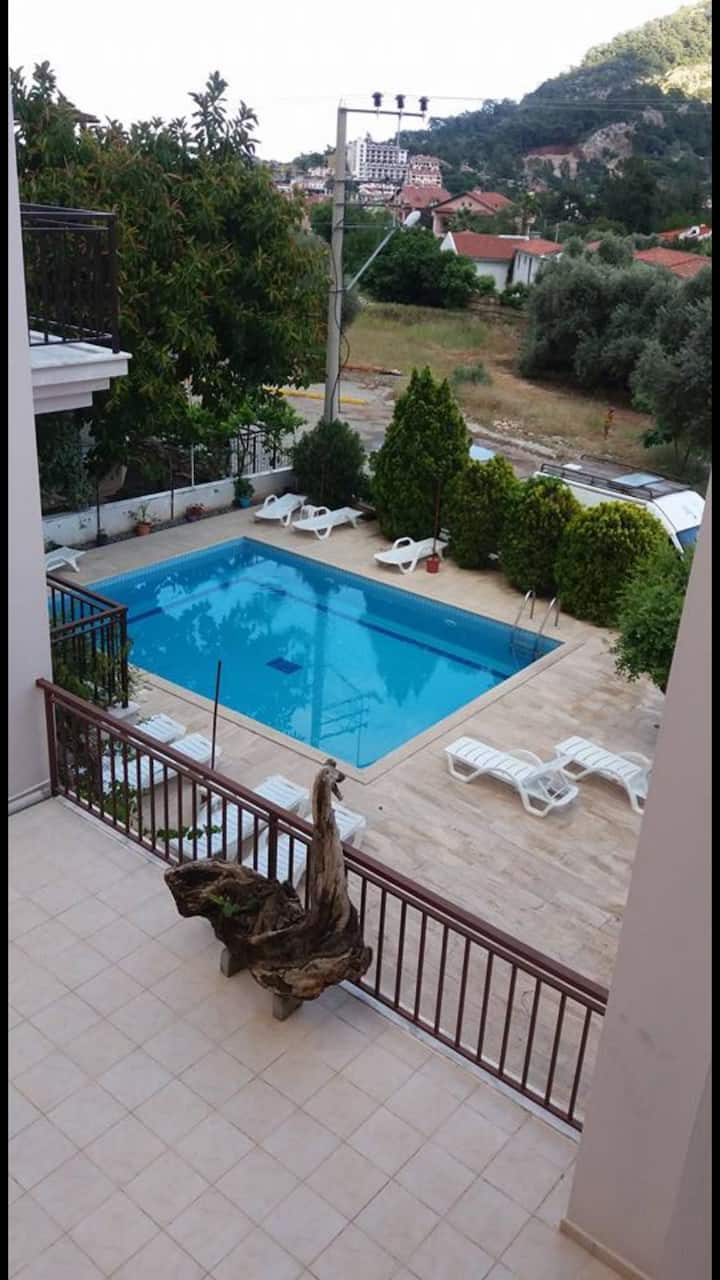 Two floor Summer apartment,2 bedroom with Pool