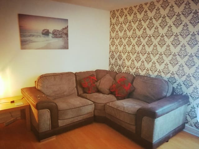 1 bed aptmnt in Manchester.15 mins to all venues.