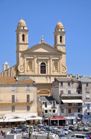 Eglise saint jean vieux port Bastia