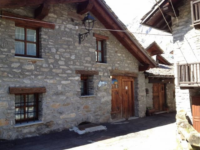 Maison di charme a Courmayeur