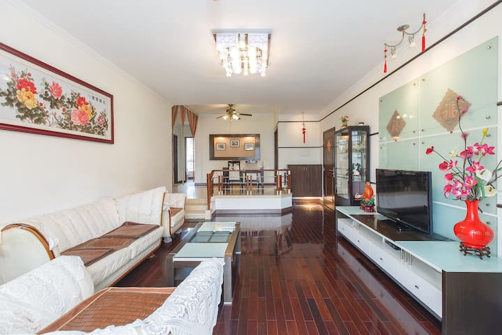 Walking to Chimelong,Subway garden3bedroom2baths - Guangzhou Shi - Huis