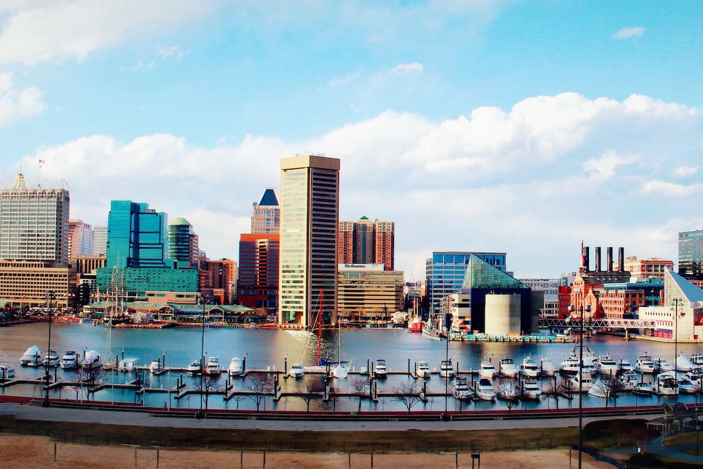 The Inner Harbor had shopping, dining and nightly entertainment