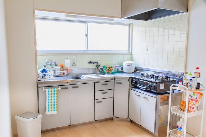 Clean & tidy 3 bedroom family house - Tennōji-ku, Ōsaka-shi - Casa