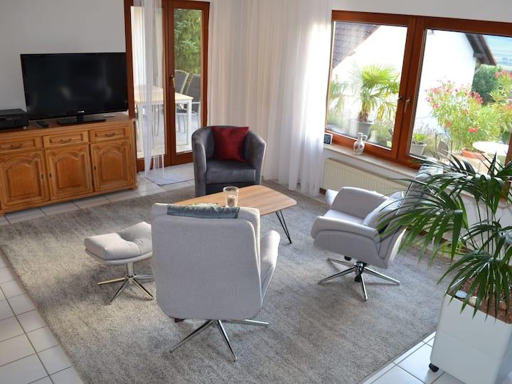 Ferienwohnung Rieth, (Dürbheim), Ferienwohnung, 63qm, 1 Schlafzimmer, max. 3 Personen