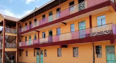 Lovely one bedroom units within Marsabit CBD area. Ample parking space and well secured. Ideal for family stay, outing and stop over when you visit the cradle of mankind