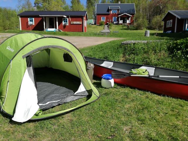 Stuga Älg middle off the stuning nature in Dalarna