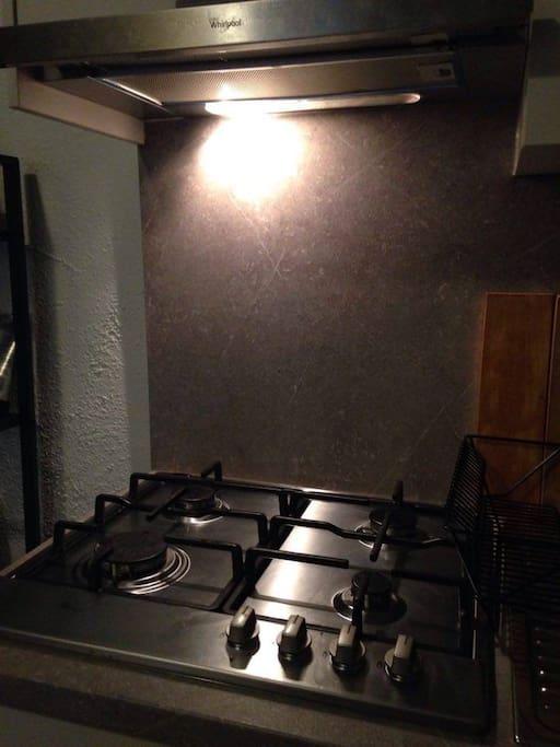 New, renovated kitchen