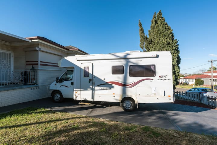 Experience motorhome stay all in 1 package