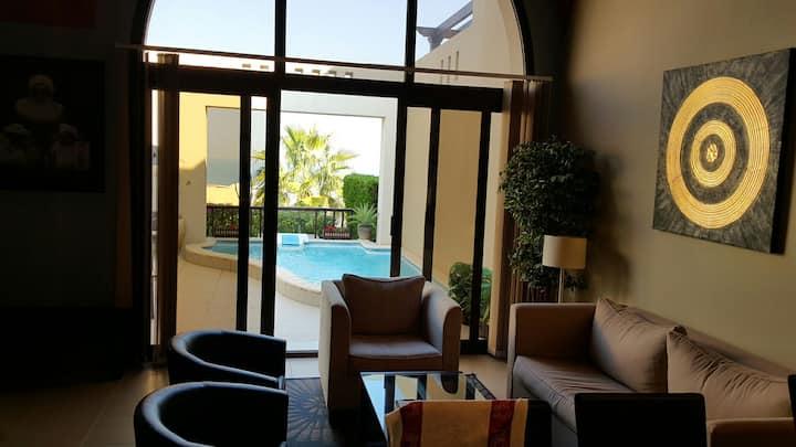 2 Bedrooms,hall,kitchen Villa at  Cove Rotana RAK
