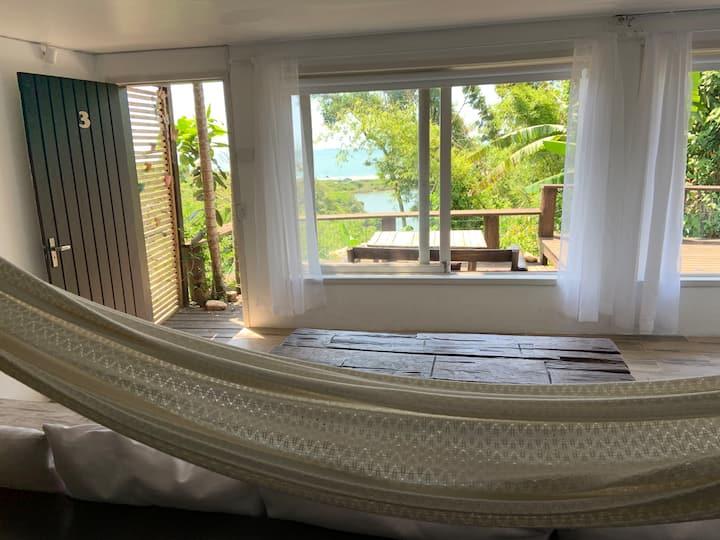 INKA 3 cabana de frente para o mar