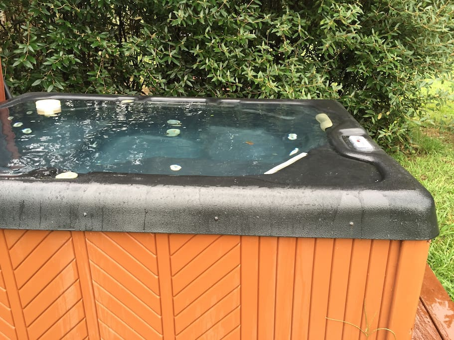 Cades Cove Hot Tub