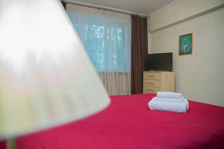 1 комнатная, Алматы, Достык 123/4 (31) - Almaty - Apartment