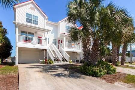 Fish On-2BR/2.5BA-AVAIL 10/24-10/31 -Canal w/Priv.Dock-RealJOY Fun Pass -100 yds to Mexico Beach - Ház