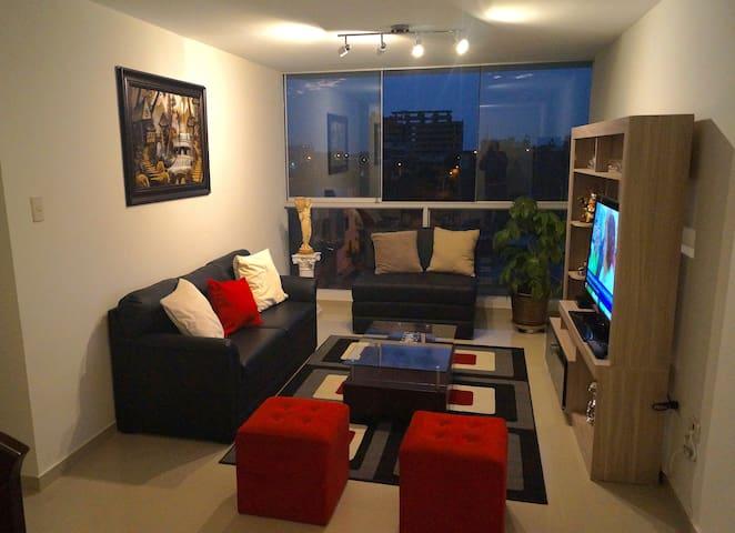 Common Living Room (night view)