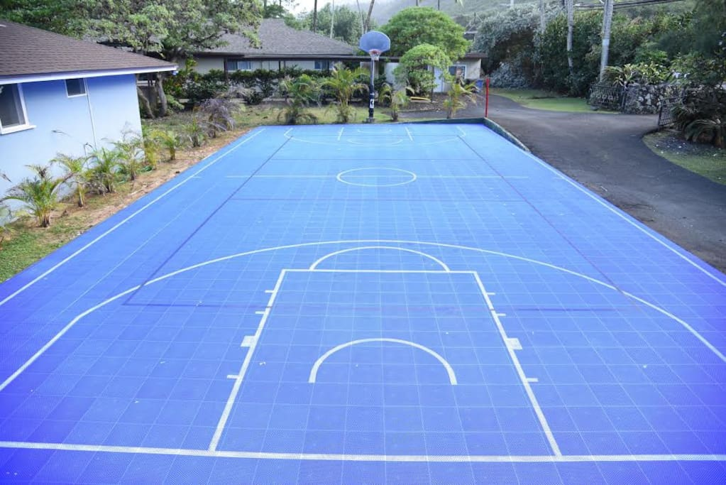 Sports Court for Additional Entertainment