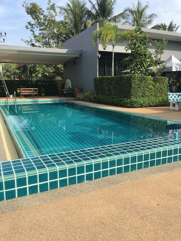 2BD pool villa in Chalong/WIFI/up to 6 ppl/A/