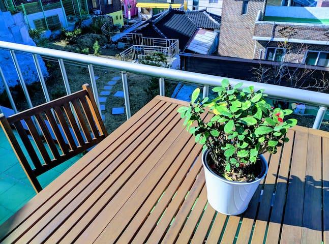Balcony day View 1