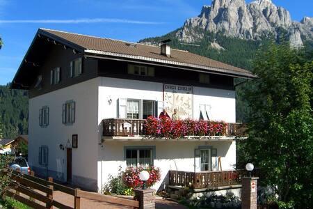 Ciasa Ciaslir con giardino privato
