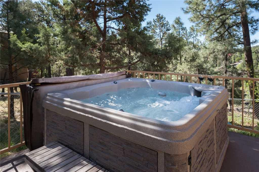 End Each Day in the Hot Tub - Imagine ending each day in the hot tub while you celebrate another perfect day on your vacation.