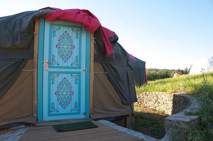 Yurt da Mongólia - Terra