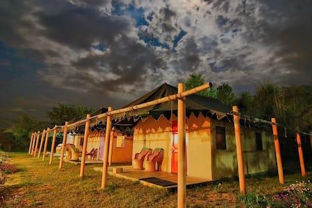 Prakriti Farm Swiss Cottage Tents, Punjab