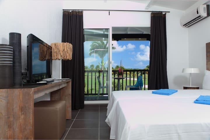 Bwa Chik Hôtel & Golf - Chambre vue Golf