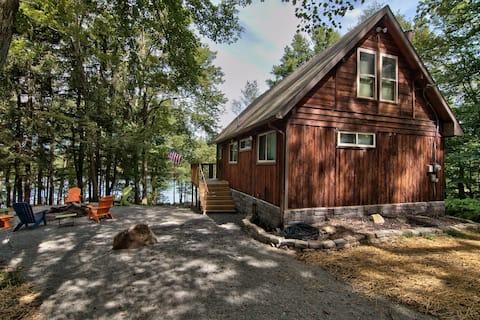 Trendy Outdoor Bliss  Pocono Lakefront