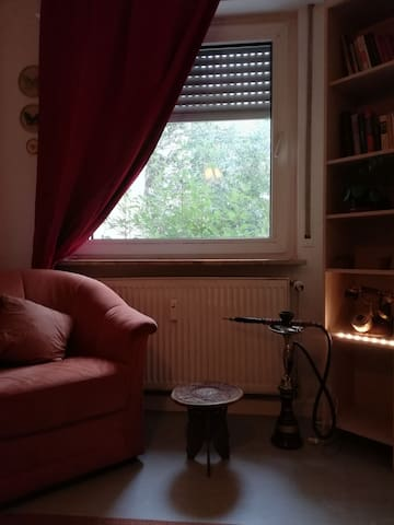 Cozy room near Messe and central Station