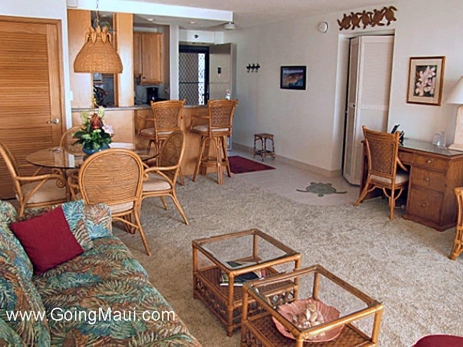Living Area of condo1009