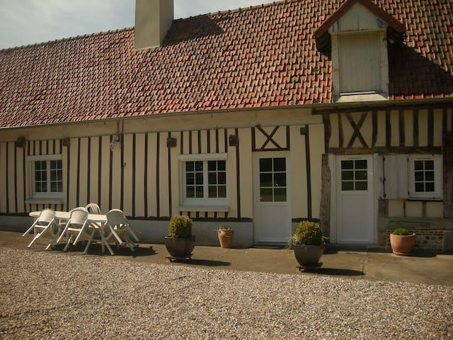 Maison Normande pour 5 pers - Gueures
