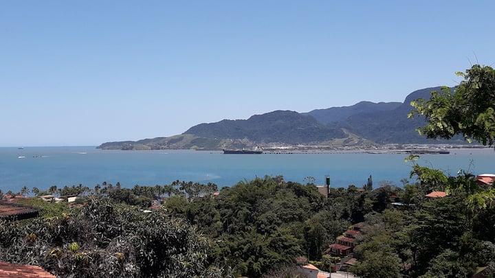 Apto02   / vista p/ o mar, com Wi-Fi em Ilhabela.