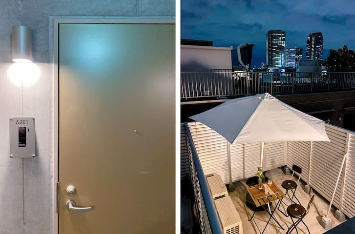 #402 New open! Shinjuku 4 mins, Cozy apt 1BR!