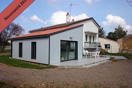 Maison à 12 mn de la plage,proche marais poitevin - Saint-Benoist-sur-Mer