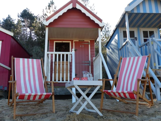 The Den, Beach Hut 82, Wells-next-the-Sea - Norfolk - Hutte