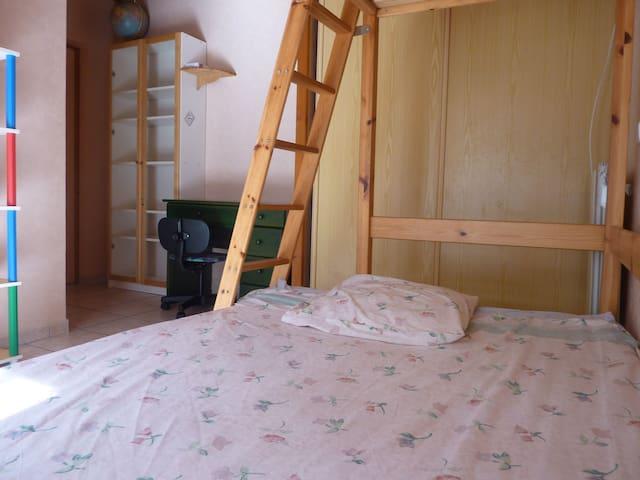 chambre indépendante dans quartier calme de Bdx - Bordeaux - Gjeste suite