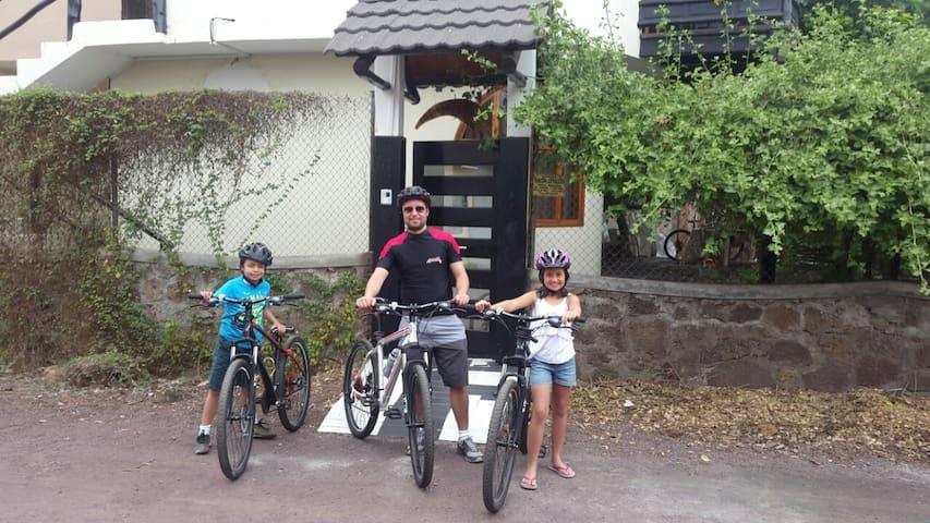 Bicicleta en el precio incluido - Puerto Ayora - Casa