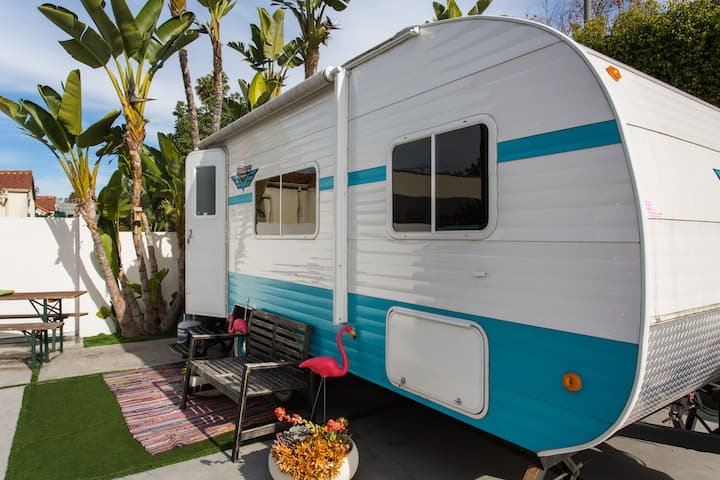 Hollywood Retro RV Boho Chic
