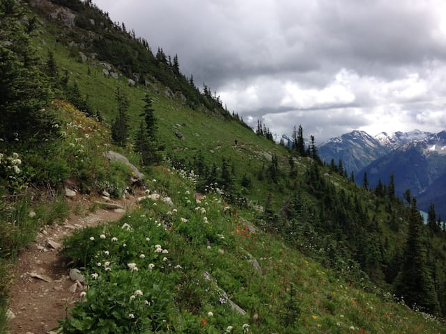 Adventure Awaits! Your mountain getaway. - Squamish - Apto. en complejo residencial