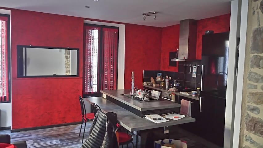 appartement espalion - Espalion - Apartment