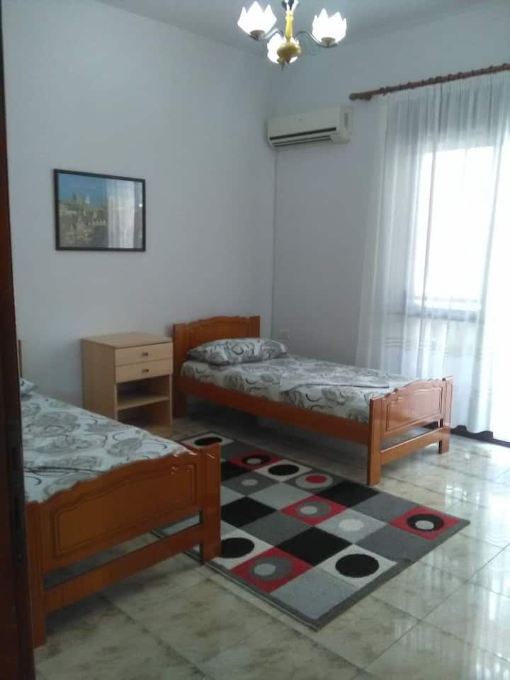 Twin ensuite room with Balcony